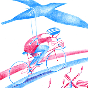 The Ride Journal Illustration
